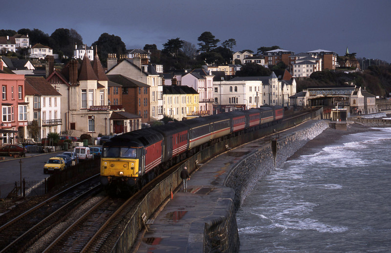 47814, 06.05 Derby-Plymouth, Dawlish, 22-1-02.