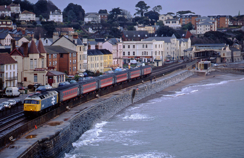47847, 06.05 Derby-Plymouth, Dawlish, 15-1-02.