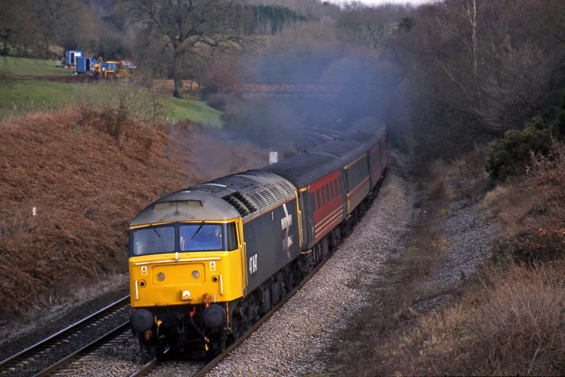 47847, 09.13 Liverpool Lime Street-Plymouth, Whiteball, 3-1-02.