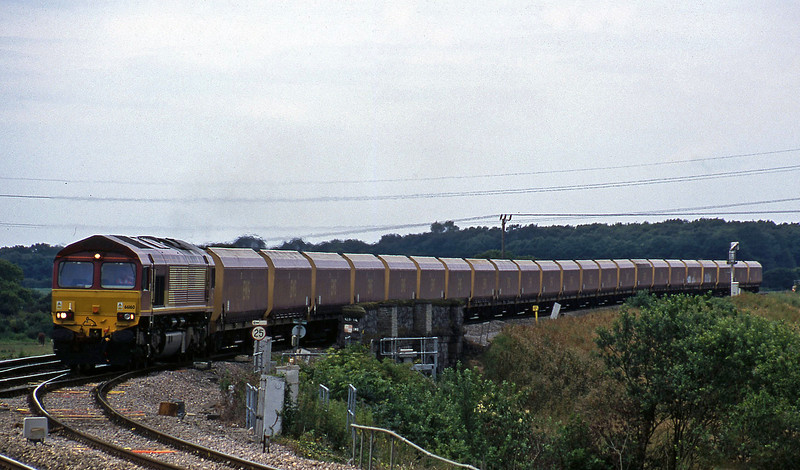 66160, down mgr, Westerleigh Junction, near Bristol, 4-7-02.