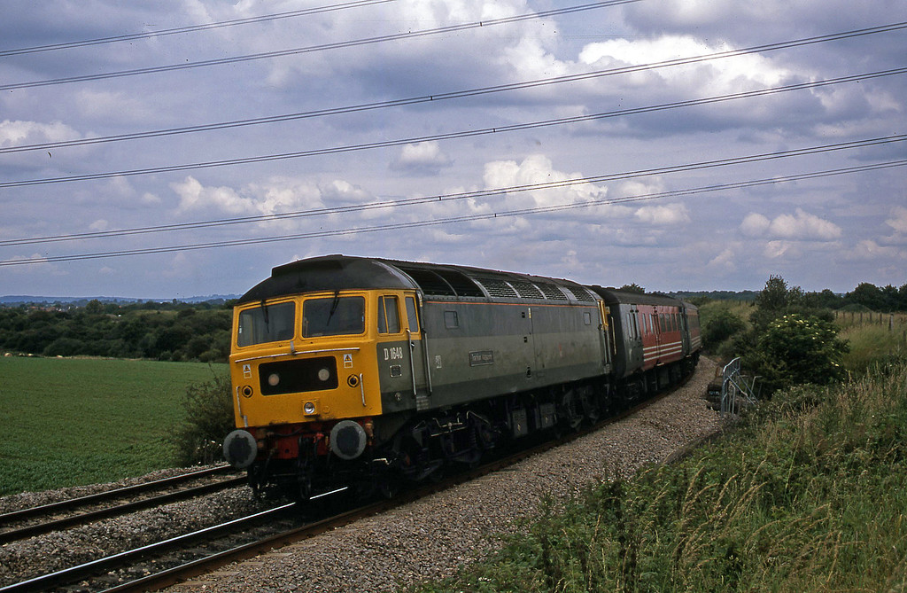 47851, 11.15 Manchester Piccadilly-Bristol Temple Meads, Westerleigh Junction, near Bristol, 4-7-02.