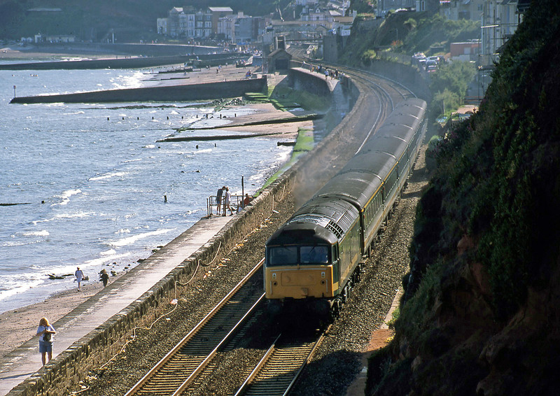 47830, 14.30 Penzance-London Paddington, Dawlish, 14-7-02.