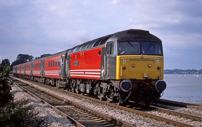 47828, 08.40 Glasgow-Penzance, Dawlish, 23-7-02.