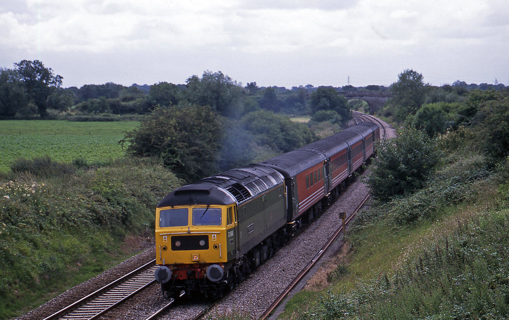 47851, 11.50 Plymouth-Liverpool Lime Street, Wickwar, Gloucestershire, 2-7-02.