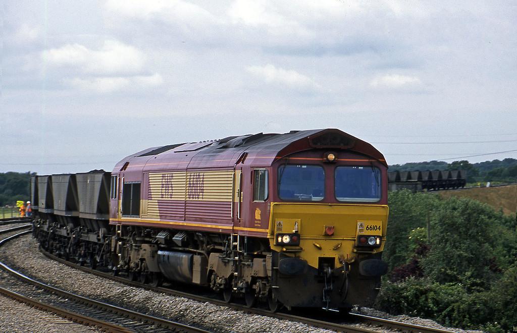 66104, down mgr, Westerleigh Junction, near Bristol, 4-7-02.