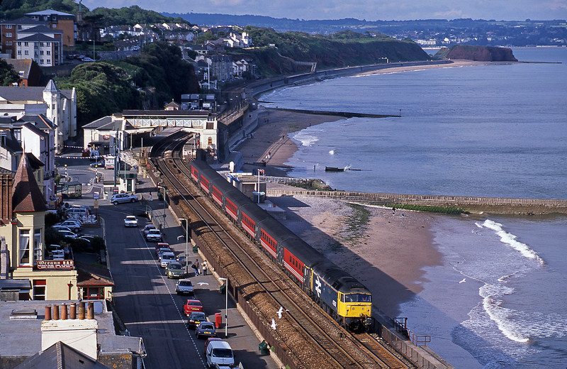 47847, 08.40 Glasgow-Penzance, Dawlish, 5-7-02.