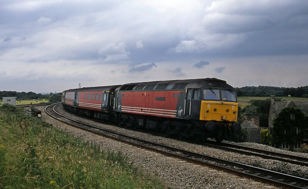 47831, 11.50 Plymouth-Liverpool Lime Street, Westerleigh Junction, near Bristol, 4-7-02.