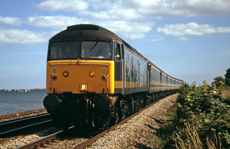 47811, 15.44 Paignton-London Paddington, Starcross, 20-7-02.