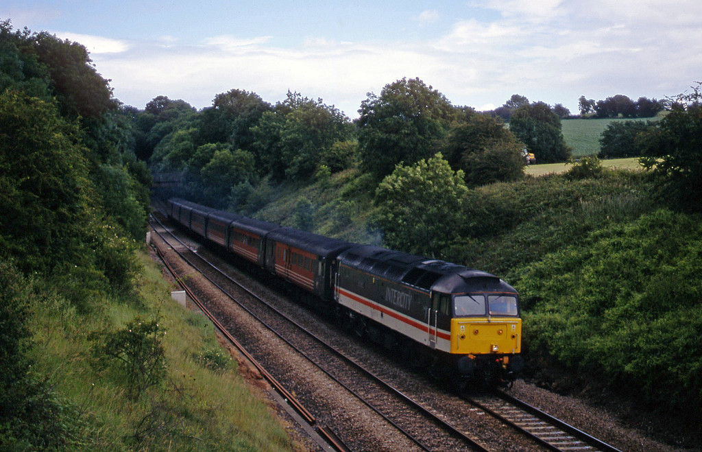 47826, 09.13 Liverpool Lime Street-Plymouth, Wickwar, Gloucestershire, 2-7-02.
