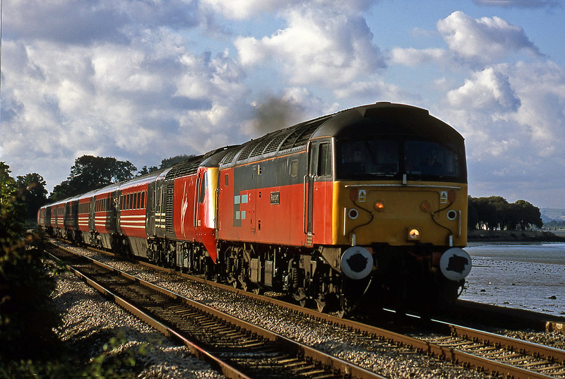 47737/43103/43084, 12.08 Newcastle-Plymouth, Starcross, 3-7-02.