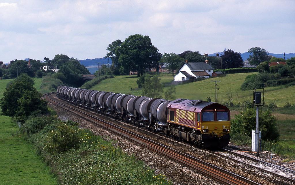 66246, 09.40 Burngullow-Irvine, Rewe, near Exeter, 6-7-02.