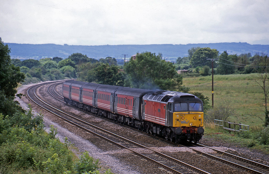 47841, 11.50 Plymouth-Liverpool Lime Street, Cogload, 9-7-02.