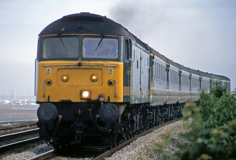 47832, 14.14 Penzance-London Paddington, Starcross, 17-6-02.
