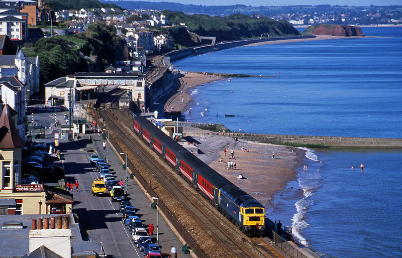47840, 08.40 Glasgow-Penzance, Dawlish, 26-6-02.