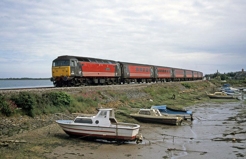 47828, 15.08 Paignton-Preston, Cockwood Harbour, near Starcross, 8-6-02.