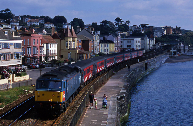 47853, 06.05 Derby-Plymouth, Dawlish, 26-6-02.