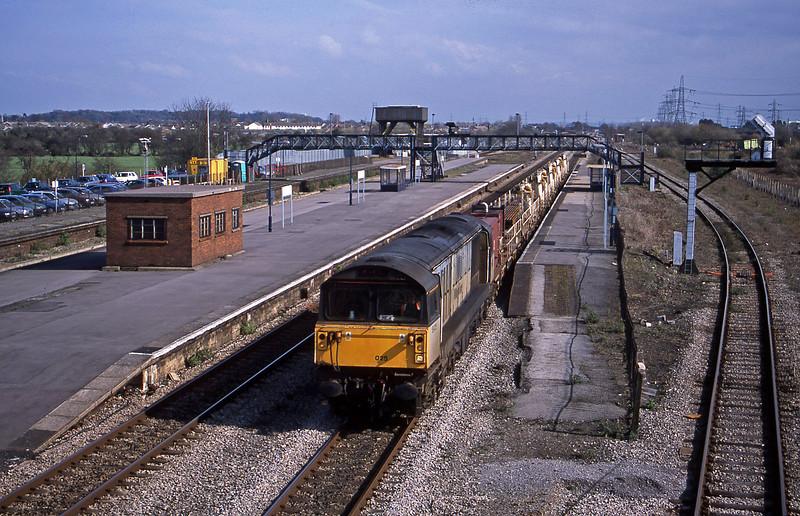 58025, 10.15 Westbury Yard-Newport Alexandra Dock Junction Yard, Severn Tunnel Junction, 12-3-02.