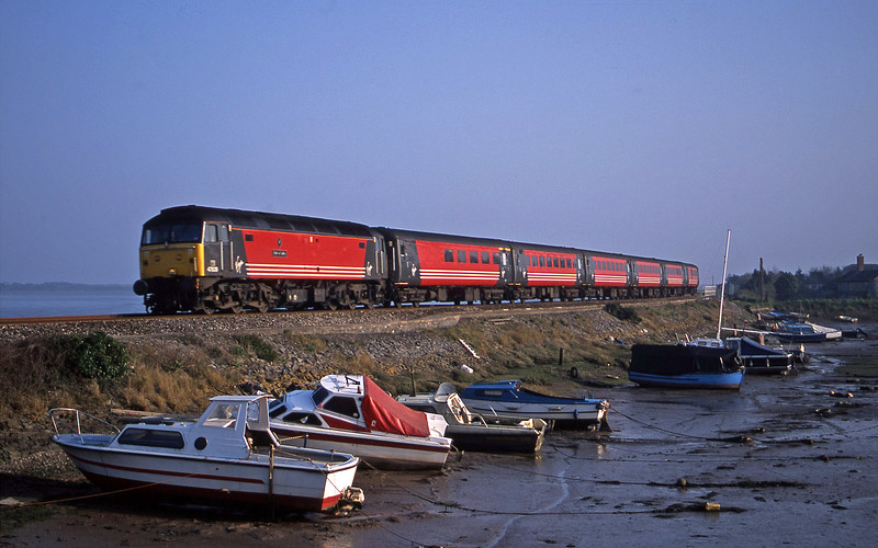 47839, 15.50 Plymouth-Leeds, Cockwood Harbour, near Starcross, 29-3-02.