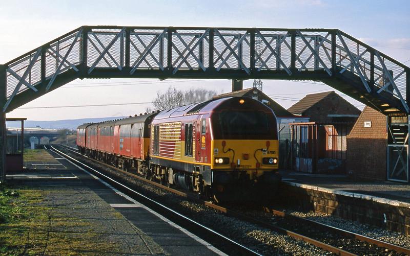 67015, 14.25 Swansea-London, Pilning, 5-3-02.
