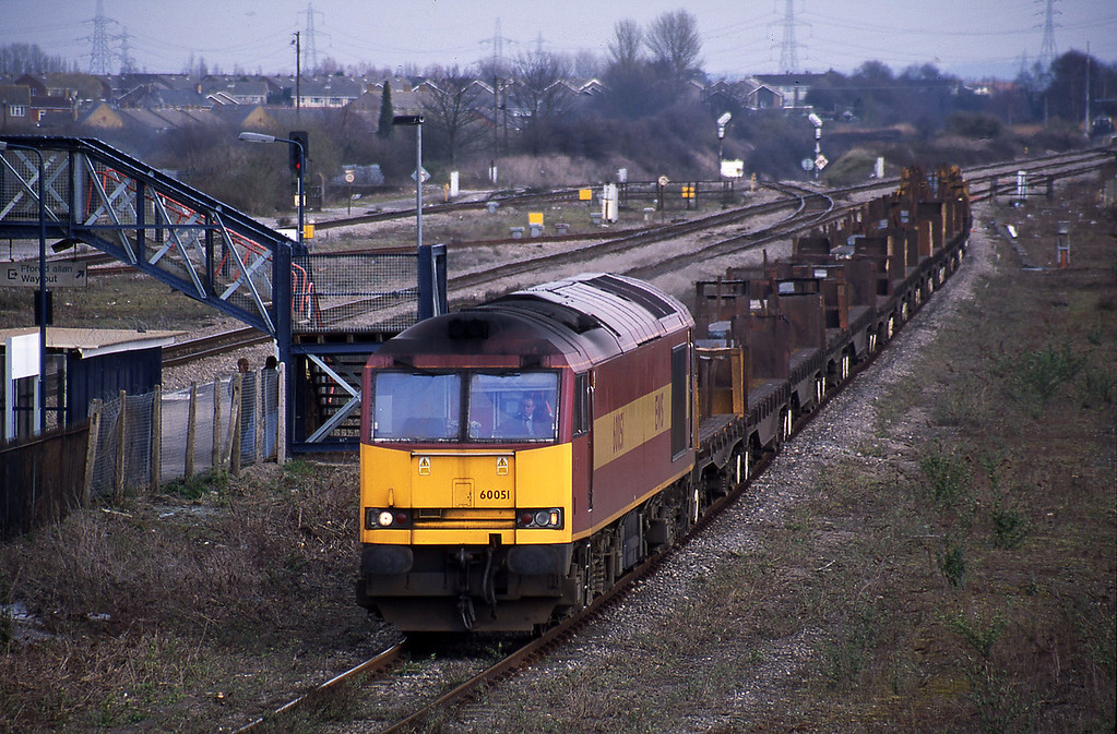 60051, Lackenby-Llanwern, Severn Tunnel Junction, 12-3-02.