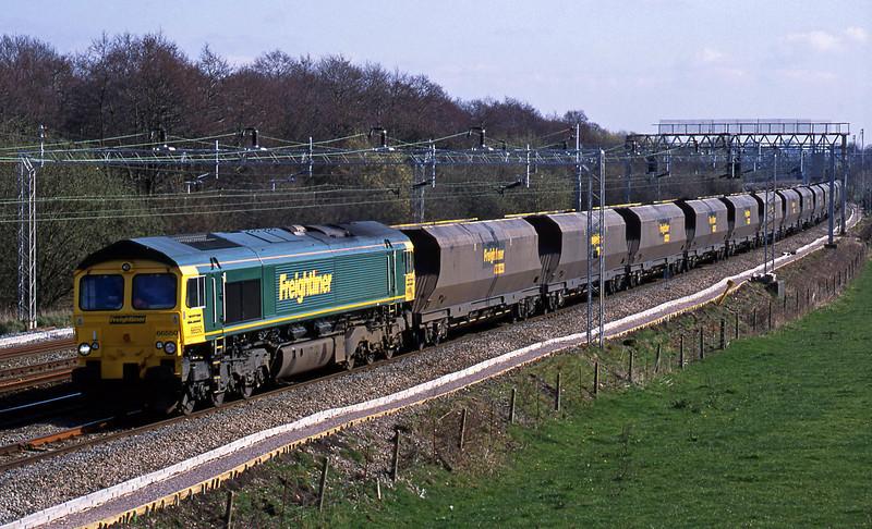 66550, down mgr, Slindon, Staffs, 26-3-02.