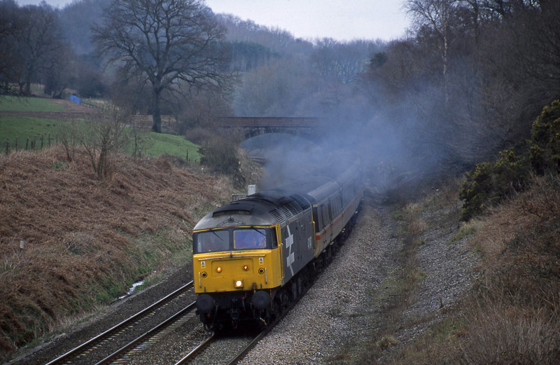 47847, 09.13 Liverpool Lime Street-Plymouth, Whiteball, 1-3-02.