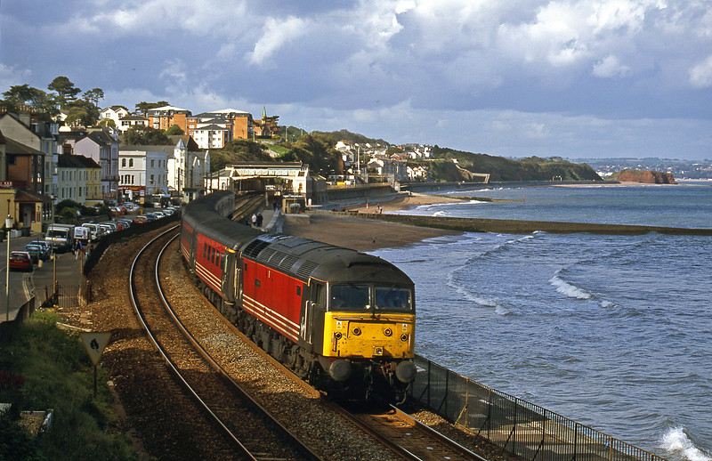 47841, 08.40 Glasgow-Penzance, Dawlish, 29-5-02.