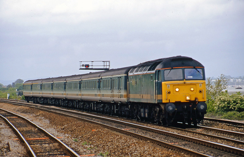 47832, 14.33 London Paddington-Plymouth, Dawlish Warren, 13-5-02.