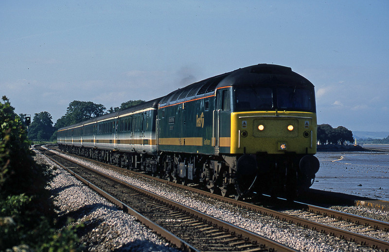 47816, 14.33 London Paddington-Plymouth, Starcross, 31-5-02.