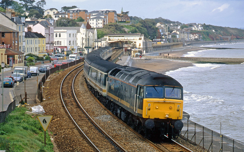 47846, 14.33 London Paddington-Plymouth, Dawlish, 14-5-02.