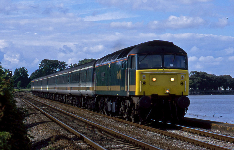 47816, 14.33 London Paddington-Plymouth, Powderham, near Exeter, 27-5-02.