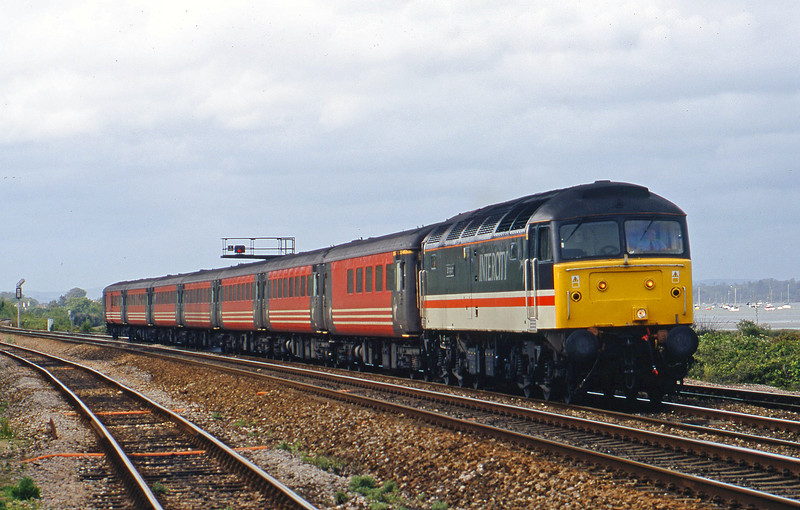 47826, 08.40 Glasgow-Penzance, Dawlish Warren, 13-5-02.