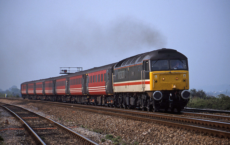 47826, 08.40 Glasgow-Plymouth, Dawlish Warren, 8-5-02.