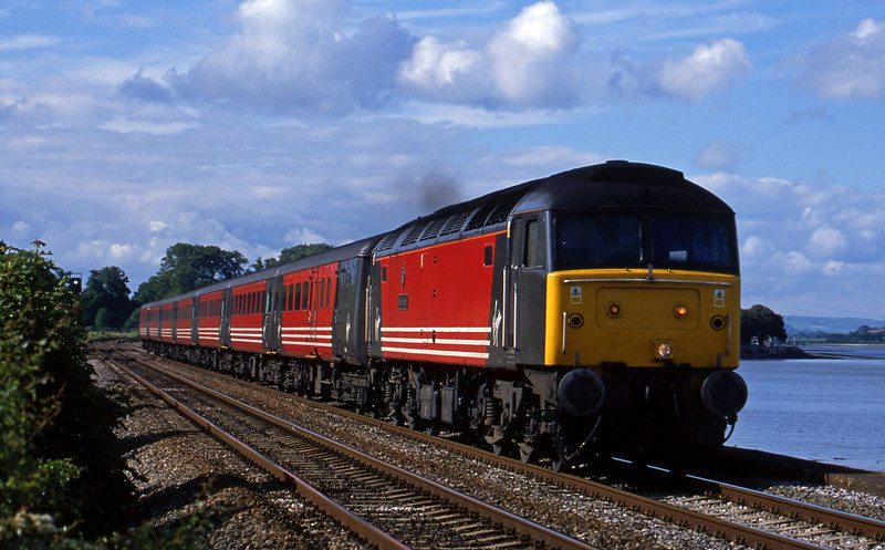 47805, 08.40 Glasgow-Penzance, Powderham, near Exeter, 27-5-02.