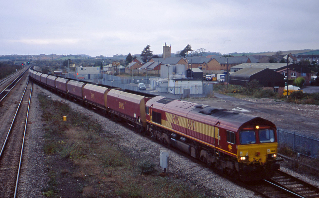 66121, Aberthaw Power Station-Avonmouth Bulk Handling Terminal,  Severn Tunnel Junction, 5-11-02.