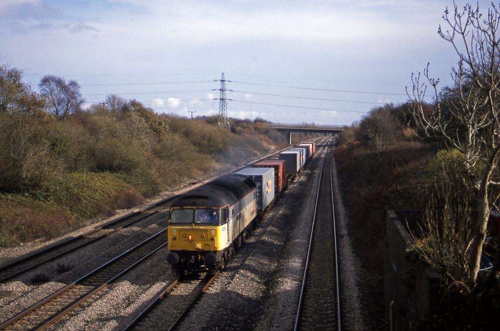 47370, Southampton-Cardiff Wentloog, Llandevenny, near Llanwern, 12-11-02.