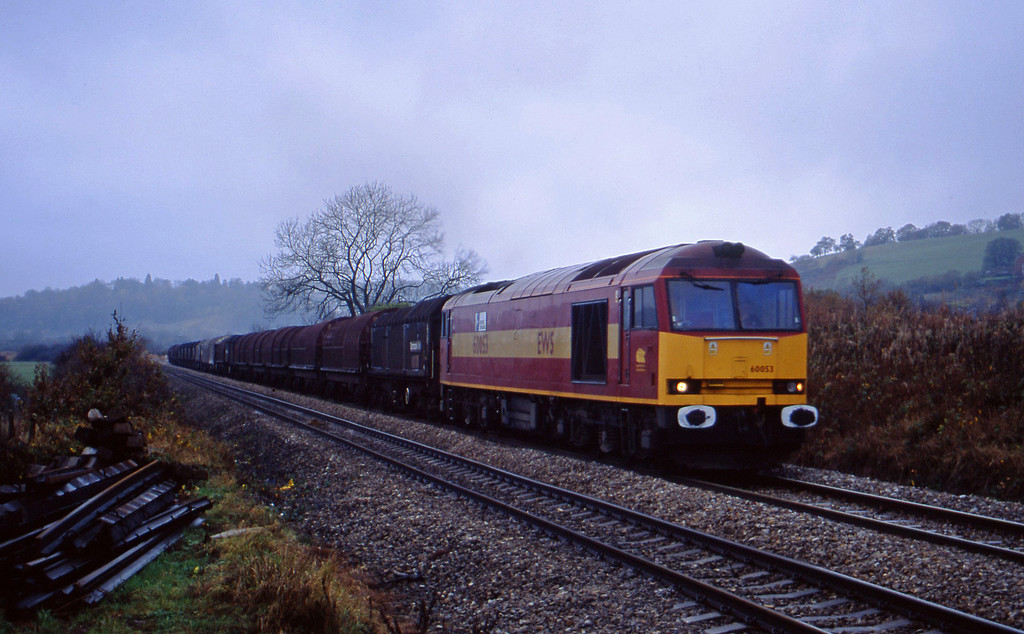 60053, Llanwern-Dee Marsh, Caerleon, near Newport, 10-11-02.