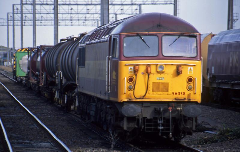 56038, stabled, Avonmouth Bulk Handling Terminal, 22-10-02.