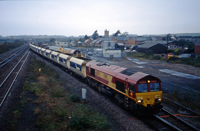 66079, Tower Colliery-Westbury, Severn Tunnel Junction, 29-10-02.