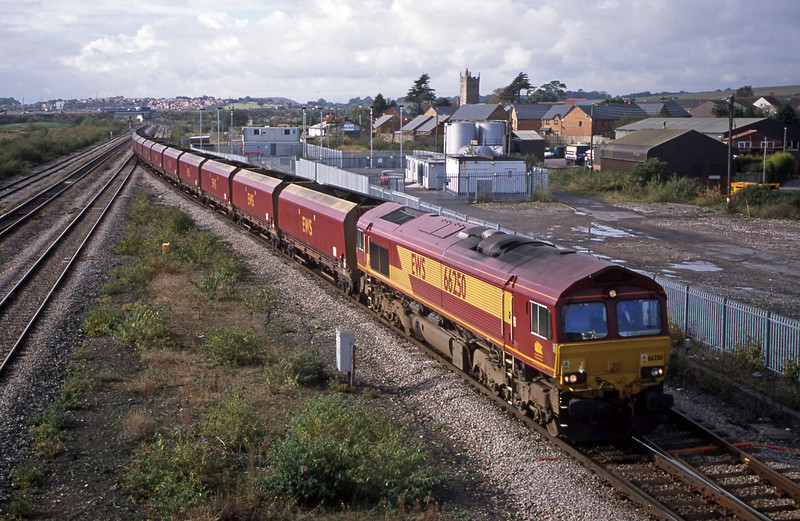 66250, 11.10 Aberthaw Power Station-Avonmouth Bulk Handling Terminal, Severn Tunnel Junction, 22-10-02.