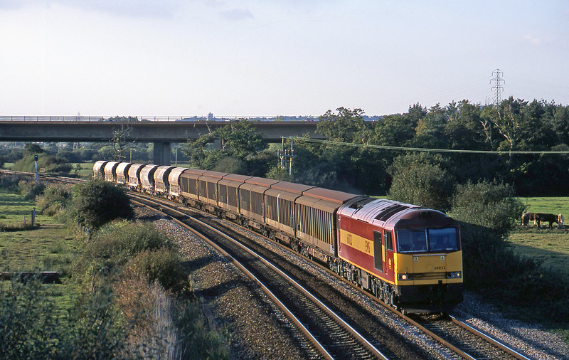 60022, 10.01 Cliffe Vale-St Blazey, Exminster, near Exeter, 23-9-02.