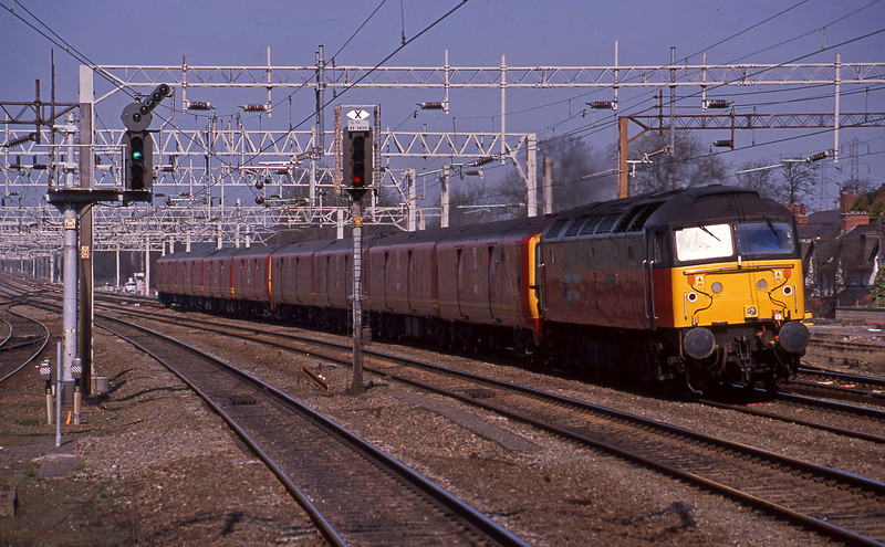 47770, 10.33 Crewe-Willesden, Rugeley Trent Valley, 8-4-03.