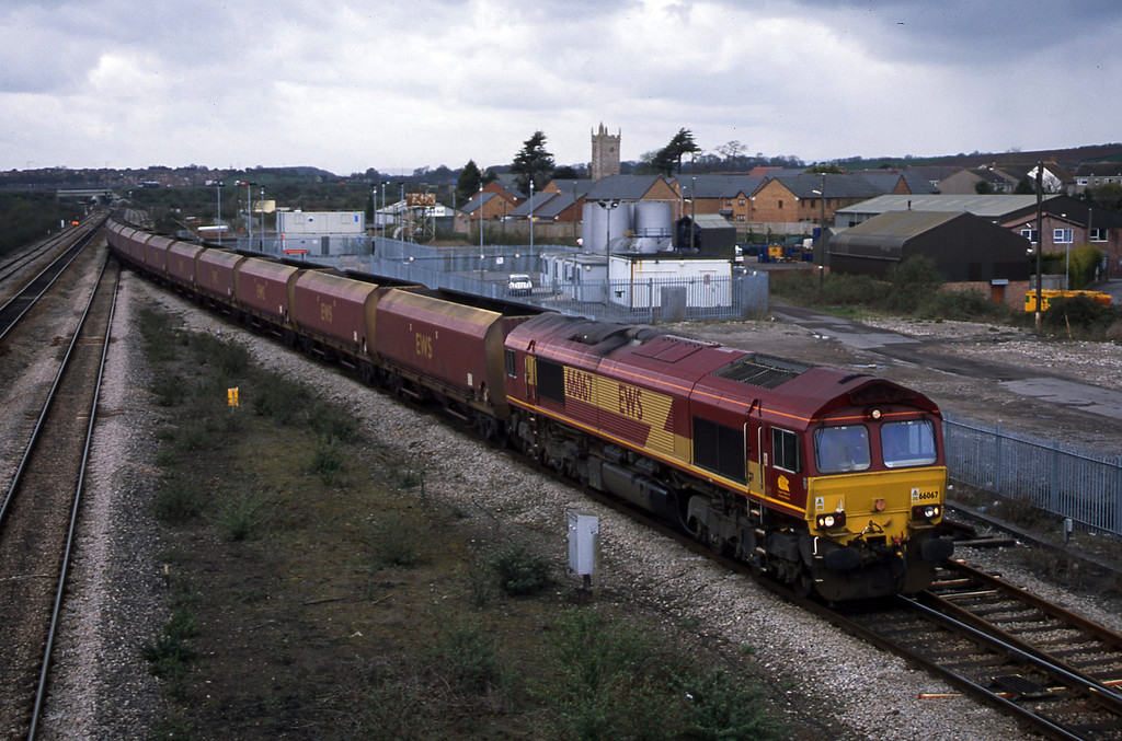 66067, Aberthaw Power Station-Avonmouth Bulk Handling Terminal, Severn Tunnel Junction, 1-4-03.