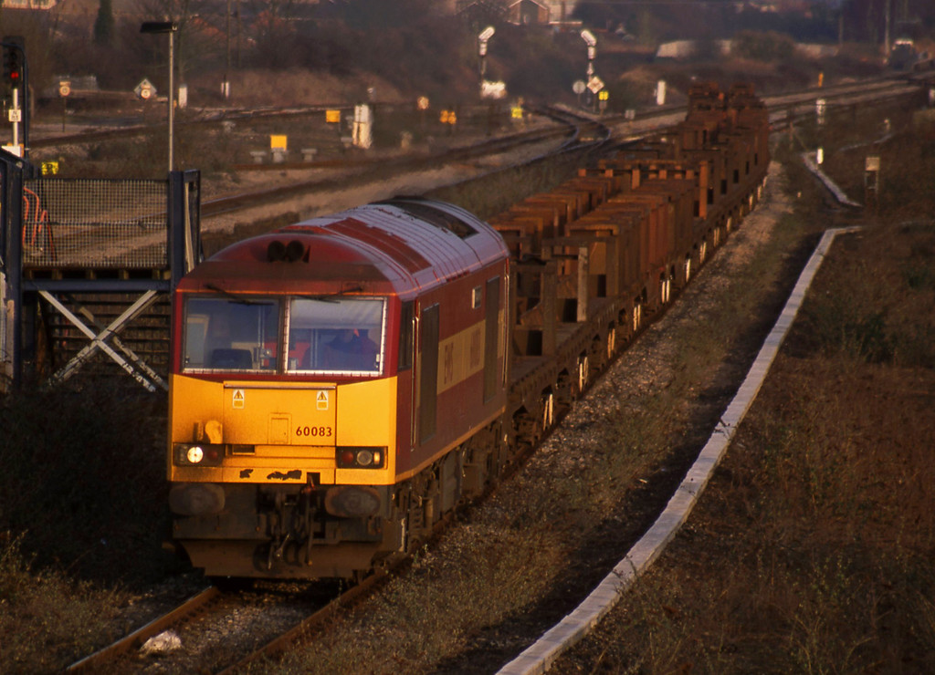 60083, 10.15 Corby-Margam, Severn Tunnel Junction, 11-2-03.