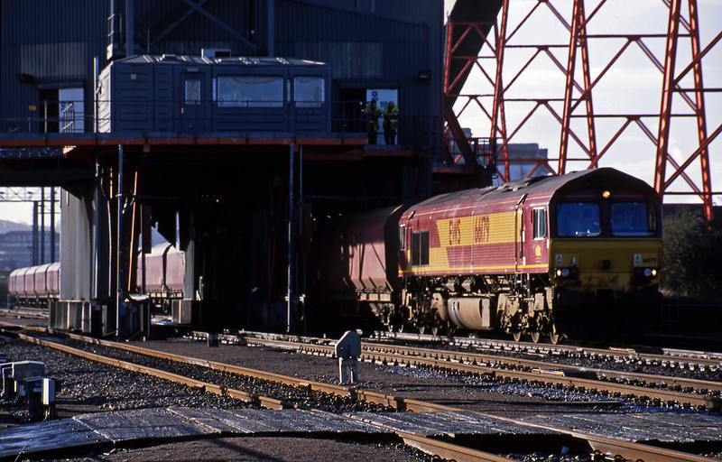66179, mgr loading, Avonmouth Bulk Handling Terminal, 21-1-03.