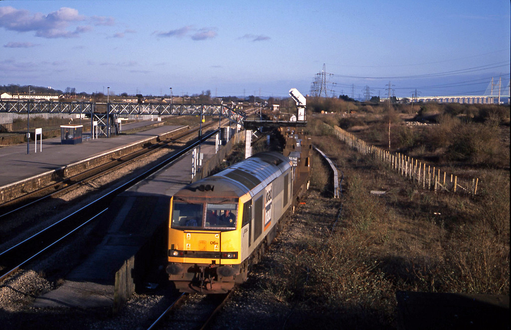 60064, 06.02 Lackenby-Llanwern, Severn Tunnel Junction, 29-1-03.
