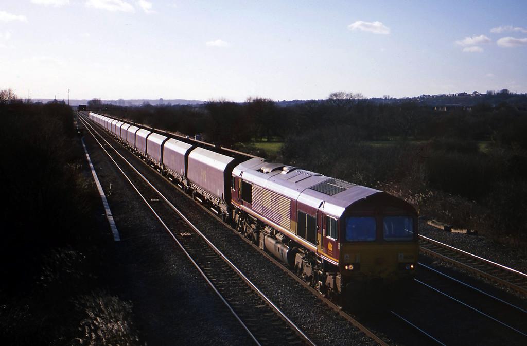 66250, Aberthaw Power Station-Avonmouth Bulk Handling Terminal, St Mellons, near Cardiff, 29-1-03.