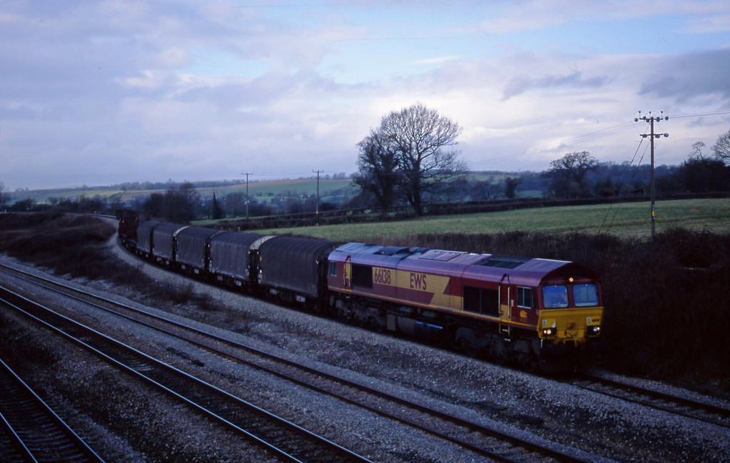66138, 10.31 Llanwern-Round Oak, Llandevenny, near Llanwern, 21-1-03.