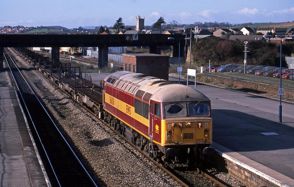 56038, 10.52 Margam-Lackenby, Severn Tunnel Junction, 29-1-03.