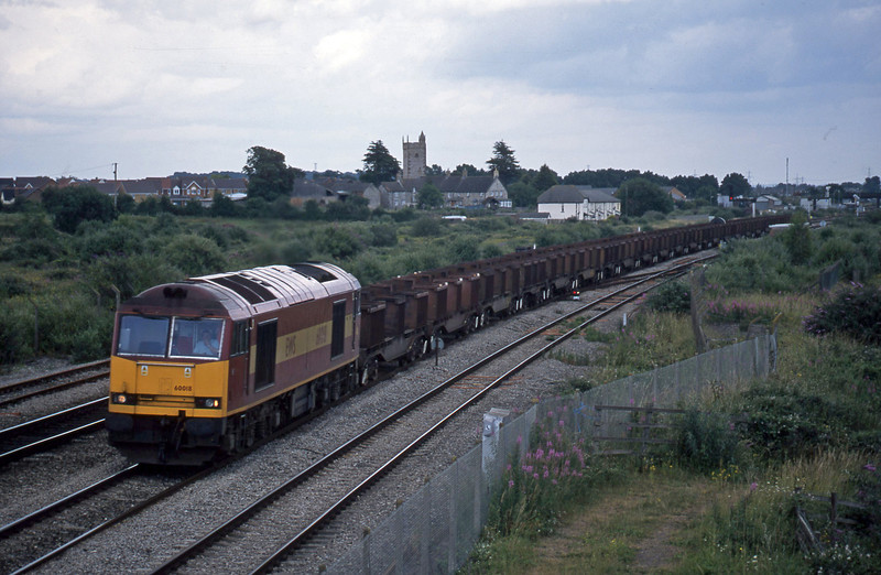 60018, 10.34 Corby-Margam, Severn Tunnel Junction, 1-7-03.